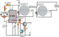 In this article we learn regarding how to design and make your own customized high current wireless battery charger circuit using wireless power transfer concept. Contents1 Introduction2 The Transmitter Circuit will include:3 The Receiver circuit stage will include:4 How the Circuit Works5 How to Select the LC Components.5.1 The Receiver Circuit5.2 Adding a voltage regulator Read More