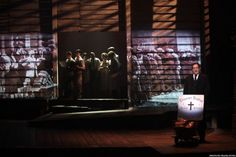 bonnie and clyde musical set design - Google Search