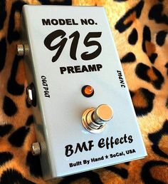 """Repost @bmf_effects  Apparently the question of the day is """"What does it do?"""" The Model No. 915 is the preamp section of a Univibe (it does not modulate at all) and it definitely colors your tone but in a good way. The lows get filled out and the highs rounded off giving your tone an overall warmer sound when it's engaged. #npd #univibe #bmf #bmfeffects #cleantone #effectsdatabase #effectspedals #fxpedals #gas #gearnerds #gearphoria #gearporn #geartalk #gottone #guitareffects #guitarfx…"""