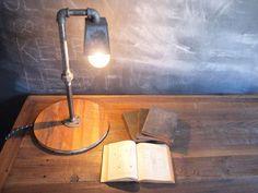 Reclaimed Desk Lamp. $180.00, via Etsy.
