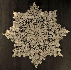 NEW Crochet Doily Pattern-Grandma Jones-Leaves & Fruit