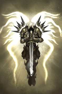 tyrael tattoo - Google Search
