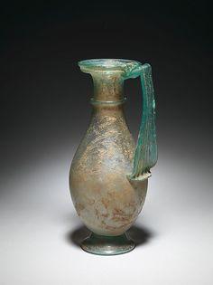 Glass jug Roman 4th Century AD