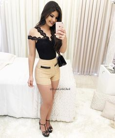 Skirt Outfits, Cool Outfits, Summer Outfits, Casual Outfits, Sexy Dresses, Fashion Dresses, Girl Celebrities, Swagg, Ideias Fashion