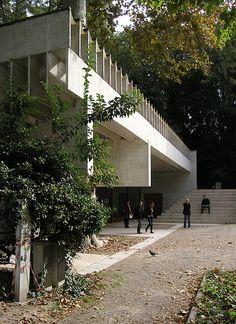 Biennale Pavilion for Venezuela, Venice, Italy. Carlo Scarpa 1954-1956