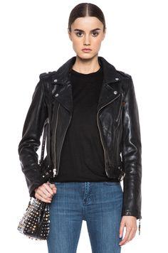 BLK DNM Iconic Leather Jacket