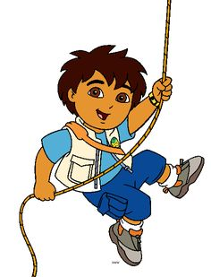 Go Diego Clipart - Free Clipart