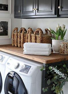 50+ Modern Farmhouse Laundry Room Remodel Decor Ideas