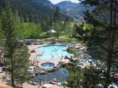 fav* You can't beat America's #1 Lake, but the pool at Resort at Squaw Creek is a nice break from the crowds on Lake Tahoe.