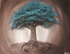 One of my favorite paintings!! #art #paint #lumiza #asheville #tree