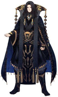 Character | Thunderbolt Fantasy - Miè Tiān Hái / Sēn Luó Kū Gǔ (Betsu Ten Gai / Shinra Kokotsu)