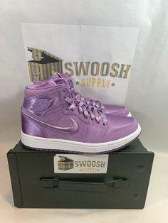 8bcbdde9fde Nike Air Jordan 1 Retro High SOH AO1847 550 Orchid Mist Women's size 7.5 Or  6Y #Jordan #Casual