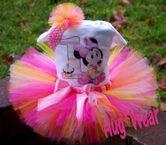 minnie mouse tutu | Custom First Birthday Baby Minnie Mouse tutu dress 12m 18m 24m 2t 3t ...