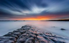 This post is a collection of photographs that make great use of long exposure in different situations. We hope that they inspire you to give slow shutter speed a try and capture great images of your own. Beautiful Landscape Photography, Beautiful Landscapes, Sky Landscape, Landscape Photos, Photo Pose Longue, Exposure Photography, Photography Tutorials, Photography Ideas, Photography Lessons
