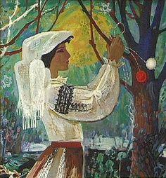 Martshisor, Moldavia spring festival, by Igor Vieru. Spring Festival, Traditional, Art Prints, Portrait, Illustration, Artwork, Painting, Inspiration, Image