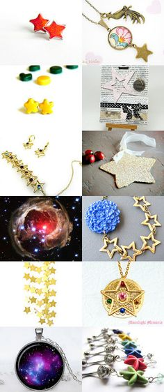 Lucky stars! by Tamara on Etsy--Pinned with TreasuryPin.com