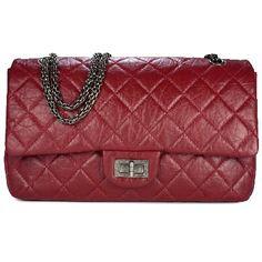 Chanel Reissue Red Jumbo Flap Bag - Prefall 2012 - 5300