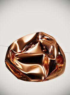 just-good-design:  Crushed by Tom DixonImage © Tom Mannion