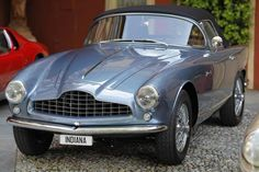 1954 ASTON MARTIN, DB 2/4, 6 cilindri, 2922 cm³ Cabriolet, Body by Bertone