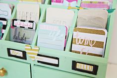 Project Life Organizer Wonder if I could find this at Hobby Lobby? Project Life Storage, Project Life Organization, Planner Organization, Art Storage, Craft Room Storage, Craft Rooms, Project Life Album, Project Life Layouts, Book Projects