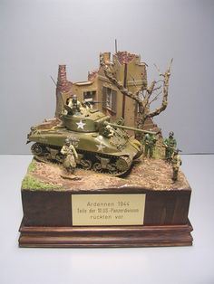 Sherman M4 75mm Ardennes 1944