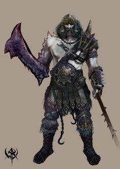 Marauder- Warhammer concept art