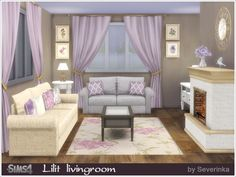 A set of furniture and decor for the living room in classic style Found in TSR Category 'Sims 4 Living Room Sets'