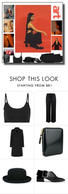 """""""Pure Art"""" by sue-mes ❤ liked on Polyvore featuring Helmut Lang, Comme des Garçons, Jil Sander and Maria Francesca Pepe"""
