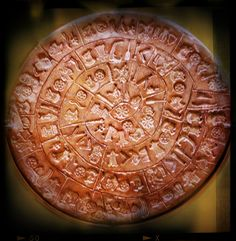 Phaistos Disc, http://www.patsartfulllife.com/ancient-wisdom/  Ancient Wisdom embodied in art for thousands of years. Create your artistic metaphors for your life.