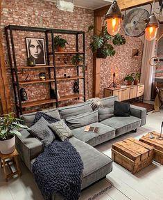 Home Living Room, Living Room Designs, Living Room Decor, Living Spaces, Cozy Living Room Warm, Decor Interior Design, Interior Decorating, Interior Colors, Decorating Kitchen