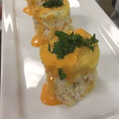 Peruvian Chicken Causa