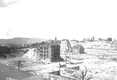 Denny Regrade looking northeast from Second Avenue, 1910