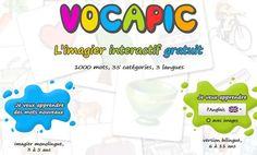 Vocapic, l'imagier interactif gratuit   POURQUOI PAS... EN FRANÇAIS ?   Scoop.it