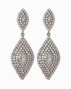 Divine Delicacy Earrings $13 #charmingcharlie Make a statement at your wedding! #CCWedding