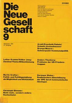 Die Neue Gesellschaft 9 — Helmut Schmid