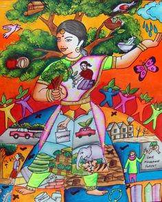 Discover ideas about drawing competition Save Earth Drawing, Save Water Poster Drawing, Nature Drawing For Kids, Art Drawings For Kids, Digital India Posters, Energy Conservation Poster, Save Earth Posters, Forest Drawing, Drawing Drawing