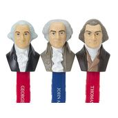 Presidents PEZ Candy Dispensers: 5-Piece Box  #LibertarianParty