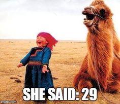 She said: 29