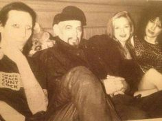 Marilyn Manson, Anton Lavey, Traci Lords, and Karla Lavey