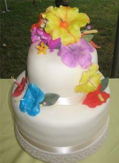 HAWAIIAN WEDDING CAKES Google Search WEDDING CAKES Pinterest
