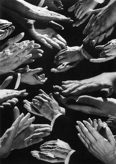 Clapping Hands, 1988. Photographed by H. Armstrong Roberts.