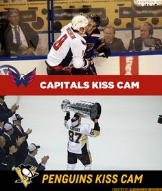 Created by Benstonium Contributor Alexander Messmer The Capitals' Kiss Cam vs. The Penguins Kiss Cam