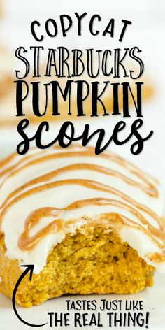 Starbucks pumpkin scones are always a favorite in the fall season. But, there's absolutely no need to pay Starbucks prices when you can easily make these delicious treats at home. This Starbucks copycat pumpkin scones recipe is the perfect fall treat to enjoy with your morning coffee.