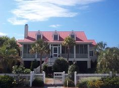 House back in Sullivan's Island