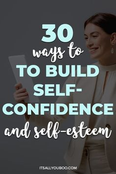 Wondering, how to build self-confidence? Do you have low self-esteem? Click here for30 ways to build self-confidence and self-esteem. Use these daily activities and strategies to improve your sense of self-worth and value. Plus, get your FREE Printable Self-Confidence quotes that are perfect for daily affirmations to build confidence. Use them to help your child and teens to be more confident in themselves. Confidence Building Activities, Building Self Confidence, Self Confidence Tips, Confidence Coaching, Building Self Esteem, Confidence Quotes, Self Development, Personal Development, Women's Health