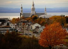 Small French Canadian Town of Trois-Pistoles ~ The Church of Trois-Pistoles, Quebec, Canada, via Flickr.