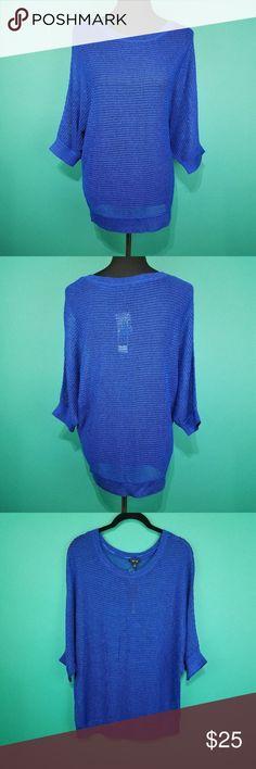Apt 9 Lightweight Dolman Sweater Top