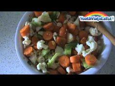 TVLT # 84 | Reteta Raw Vegan (Vegetariana Cruda) : Morcovi + Conopida + Porumb