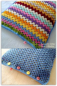 cute crochet pillow...