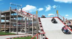 Heavy Metal Highrise--Go-carts in Branson, MO
